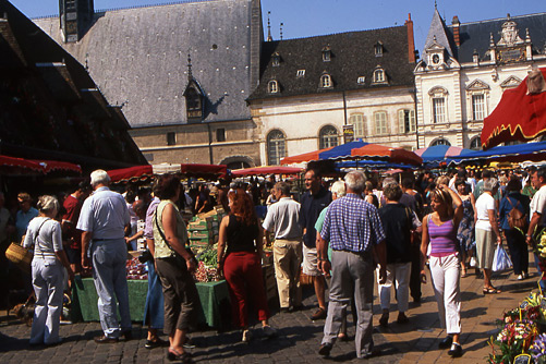 Tour guide in Beaune, Burgundy